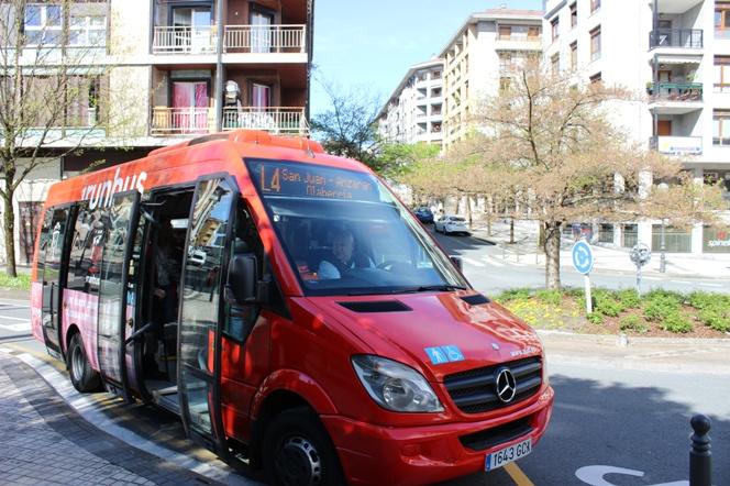 Irún pone en marcha la línea 4 de autobús