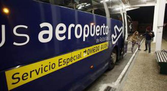 Asturias reanuda el transporte público en autobús al aeropuerto