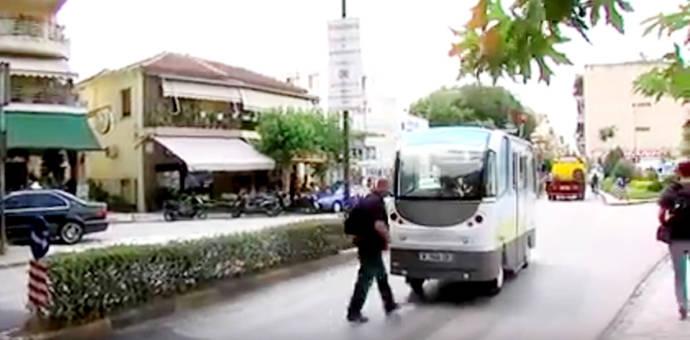 Pruebas con autobuses autónomos son realizadas en Grecia y Suiza