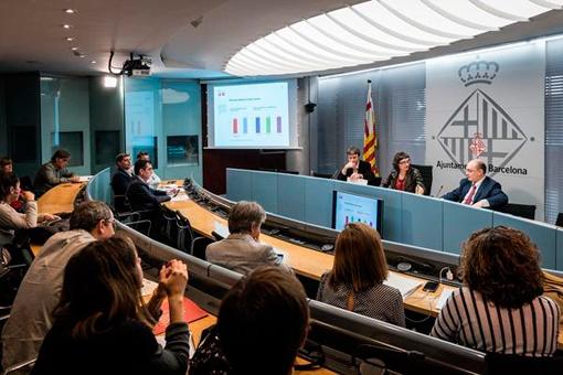 Listas para funcionar las cuatro nuevas líneas de bus en Barcelona
