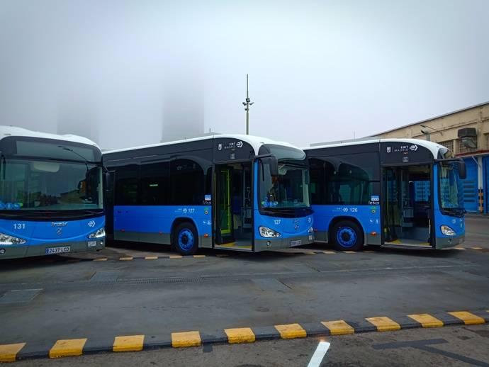 Irizar suministra 20 autobuses 100% eléctricos a la EMT de Madrid