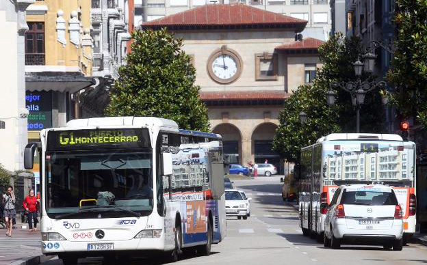 Nuevo servicio nocturno entre Oviedo, Ribera de Arriba y Morcín