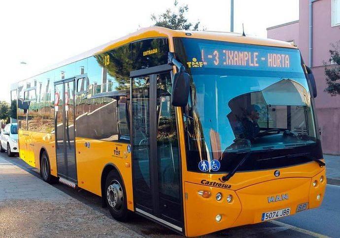 Busmatick suministrará Sigla en los autobuses de la ciudad de Figueres