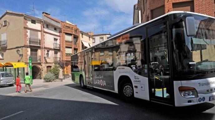 La Rioja da 241.000 euros en subvención transporte público