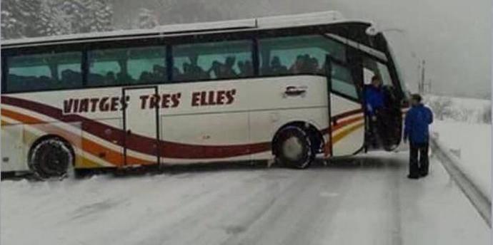 Neumáticos, pieza clave de seguridad con lluvia y nieve