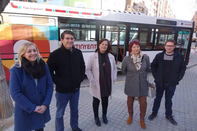 Ontinyent renueva la imagen de su autobús urbano