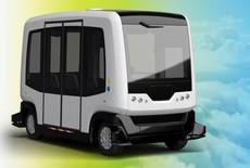 El autobús autónomo Wepod