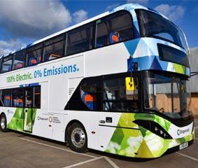 Cambridge es la primera región del Reino Unido en lanzar los buses BYD ADL Enviro400EV.