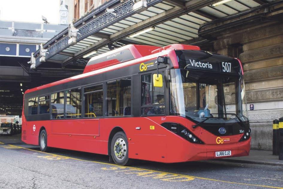 Londres reduce 900 toneladas de emisiones