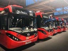 BYD y ADL entregan nuevos autobuses eléctricos a Go-Ahead London