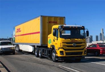 DHL incorpora camiones eléctricos de BYD para Estados Unidos