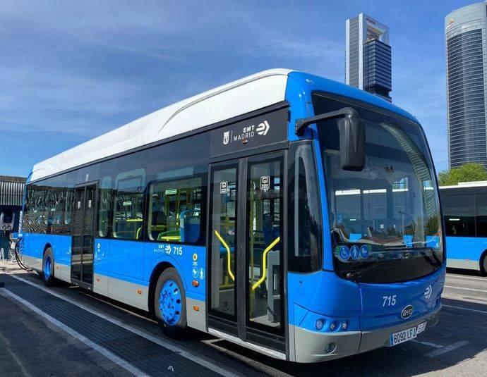 30 autobuses del modelo BYD K9UB recorrerán las calles de Madrid.