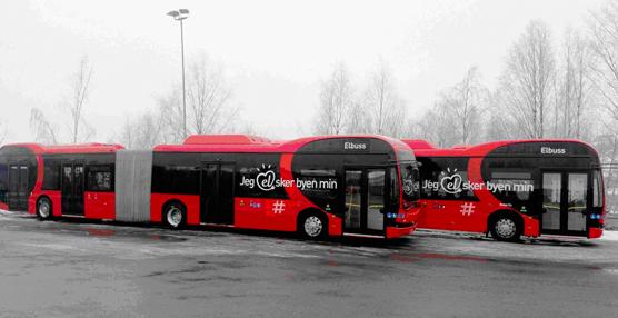 BYD adquiere el pedido más grande de articulados en Europa para Oslo