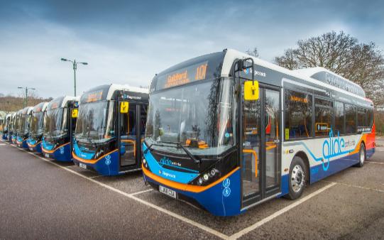 BYD ADL entrega nueve autobuses eléctricos a Stagecoach
