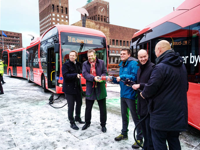 Presentación de los nuevos BYD para Oslo.