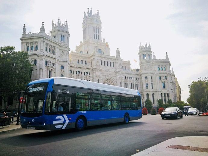 BYD es seleccionado de nuevo para un tercero pedido de flota por la EMT Madrid