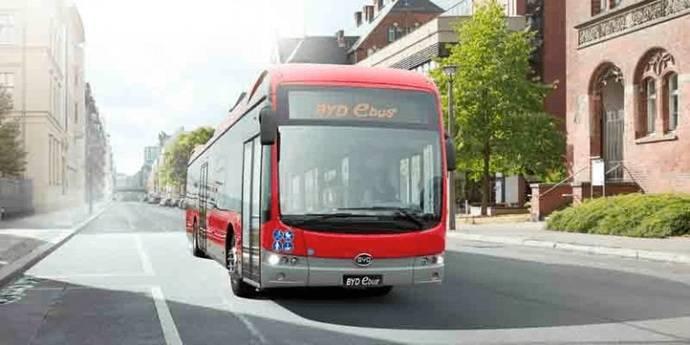 BYD, primer pedido de autobuses eléctricos para Rumanía