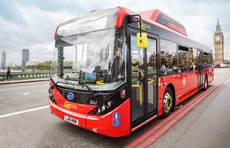 Un modelo de autobús sostenible en Londres.