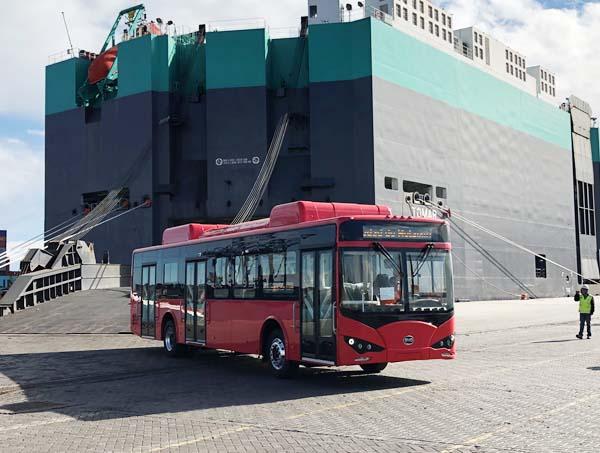 BYD entrega sus primeros autobuses eléctricos puros en Argentina