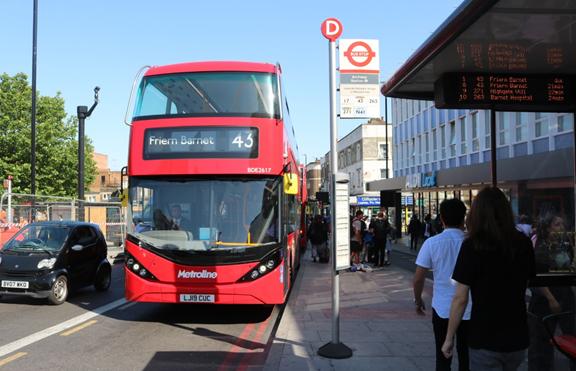 BYD ADL provee los nuevos doble piso Enviro400EV para Londres