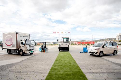 Llegan a Europa los camiones 100% eléctricos de BYD