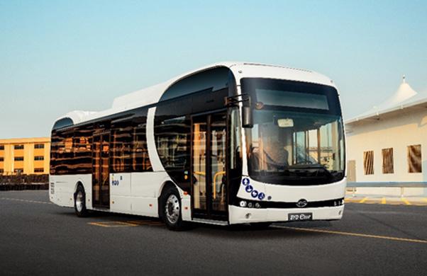 Crecen, en España, los pedidos de autobuses eléctricos puros de BYD
