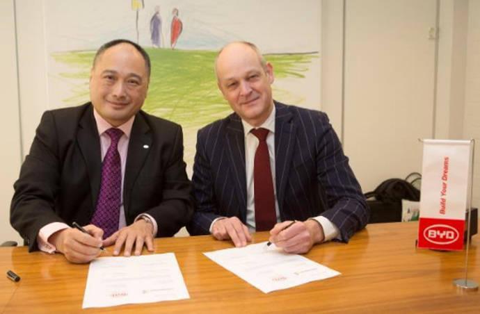 BYD obtiene el pedido de autobuses eléctricos de Connexxion en Holanda