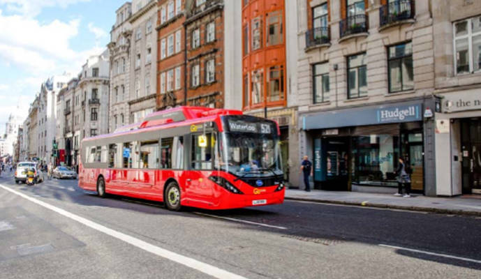 Londres pretende tener la mayor flota europea de autobuses eléctricos