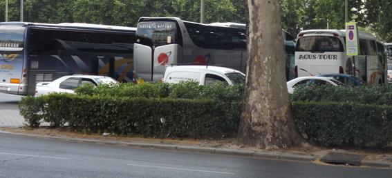 Las matriculaciones de autocares y autobuses suben un 15% hasta abril