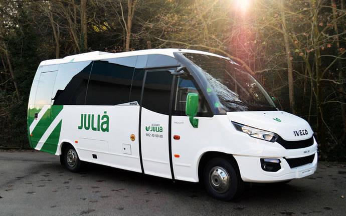 Nuevo Wing para Autocares Julià