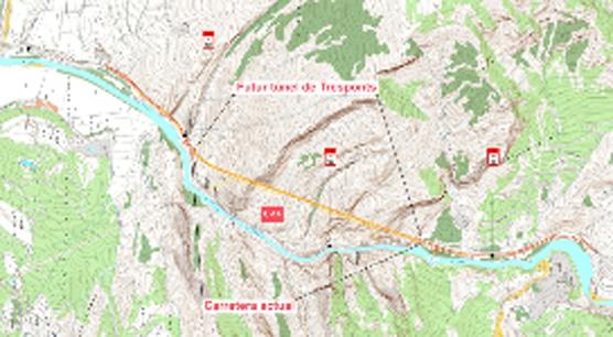 Mapa del lugar donde se llevará a acabo la intervención.