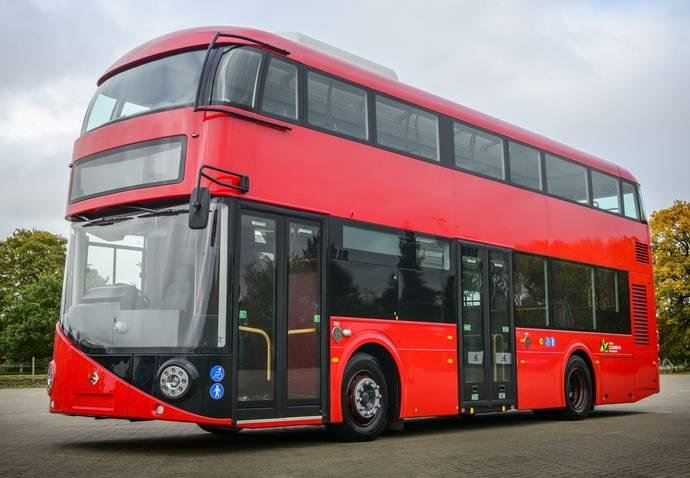 Estreno mundial del Double Deck Electric Hybrid de Volvo