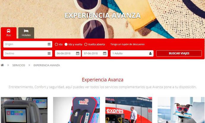Avanza estrena una nueva web