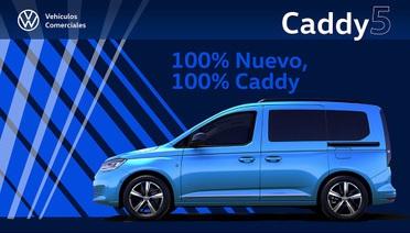 Volkswagen Caddy: presentación de la V generación en Madrid