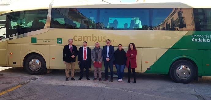 Cambus amplía servicios de transporte en la provincia de Jaén