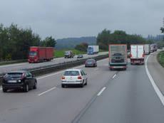 Transporte de mercancía por carretera.