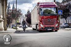 Obligatorio desde Enero en Francia: los camiones señalizarán sus ángulos muertos
