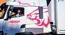 ESP y Renault Trucks visibilizan el cáncer de mama