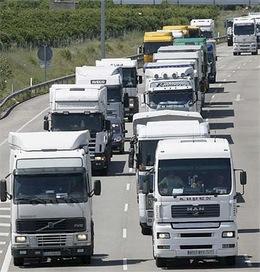 El transporte de mercancías presenta una disminución de los costes de explotación