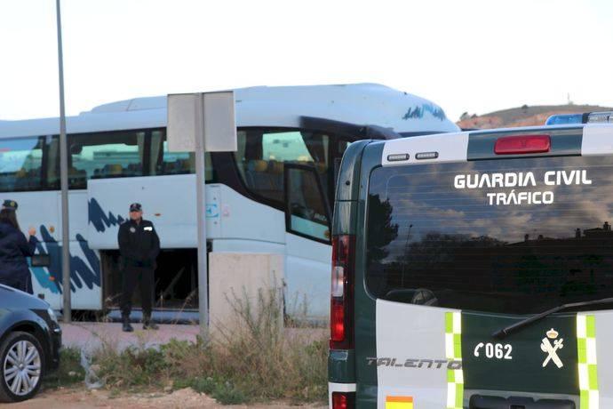 La infracción más común en autobuses es la documentación irregular