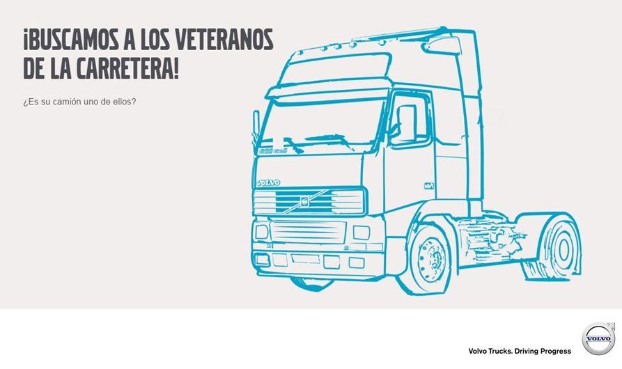 Volvo Trucks premia a camiones antiguos en su campaña 'Buscando a los veteranos de la carretera'