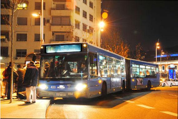 EMT de Madrid colabora con la Campaña del Frío