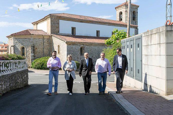 Cantabria mejora la pavimentación de tres pueblos