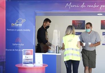 Comienza la ruta de OnTurtle y Teleroute en apoyo a los transportistas