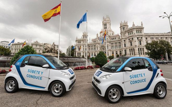El Gobierno comprará el Co2 que dejan de emitir los coches de Car2Go