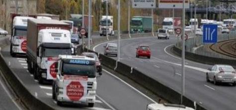 Fegatramer apoya movilizaciones de transportistas del carbón en Galicia
