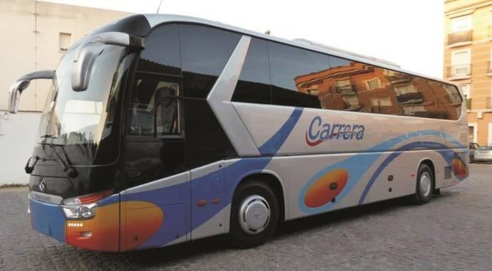 Nuevo King Long C12 autoportante de 55 plazas para Autocares Carrera
