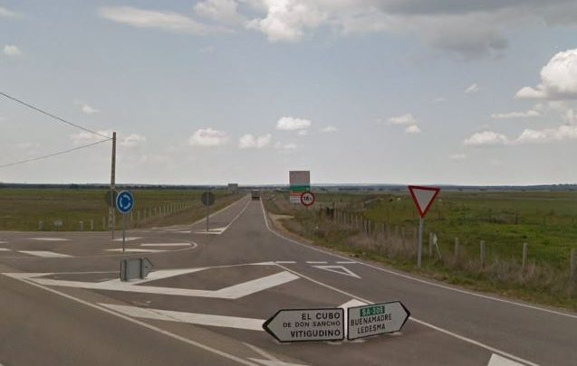 5,2 millones de euros para terminar las obras en la carretera SA-305