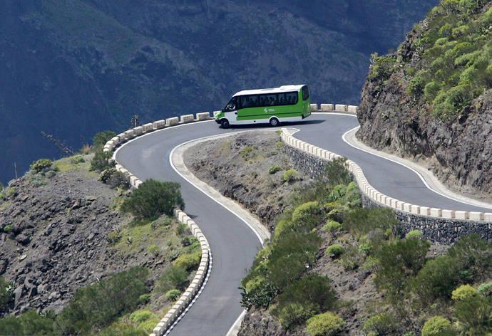 57,5 millones de euros a los Cabildos canarios, para el transporte público