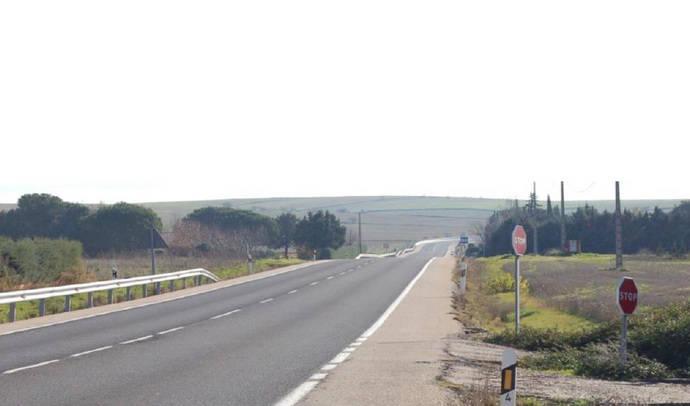 Una carretera española.